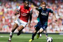 Arsenal's Diaby out for 9 months with knee injury