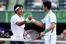 Djokovic beats Somdev, Sharapova wins at windy Miami