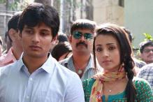 Tamil actors Jiiva,Trisha shoot for a song in Seychelles