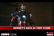 Sneak peek: Robert Downey Jr back as Tony Stark in 'Iron Man 3'