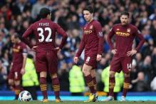 Manchester City lose at Everton as title bid slips away