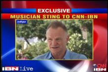 Musician Sting on what he loves about India