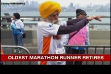 Oldest marathon runner Fauja Singh retires