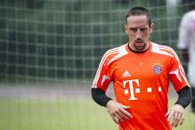 Bayern's Franck Ribery ruled out of Arsenal clash