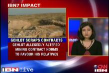 Rajasthan: Gehlot cancels sandstone mining contracts of relatives
