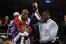Ageless Hopkins wins light heavyweight title at 48