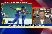 Jaya has her way, SL players won't play in Chennai