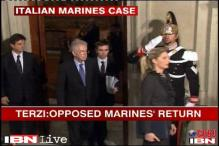 Wasn't my decision to send back marines: Italian ex-foreign minister