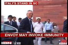 Italian envoy likely to claim full immunity in SC today