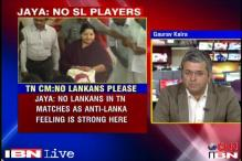No SL players in Tamil Nadu: Jayalalithaa to BCCI