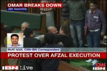J&K: CM Omar Abdullah breaks down in Assembly