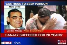 Justice Katju says he'll seek pardon for Sanjay Dutt, Zaibunisa