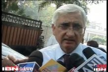 Law will remain as it is: Salman Khurshid on Italian marines
