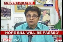 Timebound Services Bill strengthens the rights of citizens: Kiran Bedi