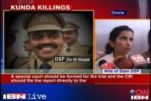 DSP murder: Stones pelted on CBI's jeep in Kunda