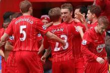 Lambert's goal gives Southampton shock win over Chelsea