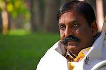 Poet Vairamuthu wins the 'Ilakiya Chinthanai' award