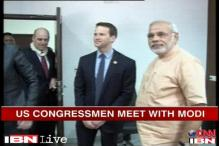 US delegates who met Modi paid for the trip: reports