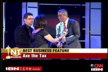 Watch: Rajdeep Sardesai wins Best News Presenter at NT Awards