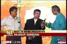 National Television Awards: Rajdeep Sardesai wins Best News Presenter