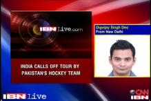 Afzal resolution: India cancels hockey tour with Pakistan