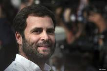 Rahul Gandhi meets slain UP DSP's family