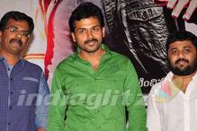 Telugu actor Karthi seems confident of his next