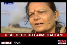 Real Hero Laxmi transforms lives of widows in Vrindavan