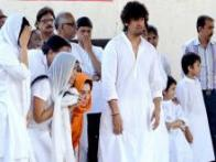 Bollywood celebrities pay their last respects to Sonu Nigam's mother