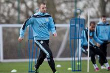 Defender Ron Vlaar back in training for Aston Villa