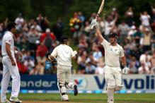 2nd Test: Rutherford's debut century hurts England