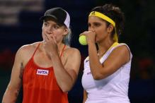 Sania-Bethanie in quarters, Bopanna-Ram knocked out of Sony Open