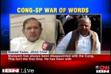 Mulayam will still continue to support Congress, says Sharad Yadav