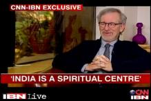 Watch: India is one of the greatest spiritual centres in the world, says Steven Spielberg