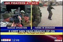 Srinagar: Suicide attackers target CRPF camp; 5 security men killed