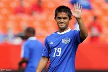 I cannot rest on past laurels, says Sunil Chhetri