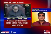 Suryanelli gangrape case: Court sends notice to Kurien