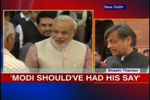 Wharton shouldn't have disinvited Modi, says Tharoor