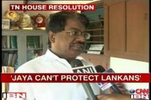 Jaya cant protect Lankans, says TKS Elangovan