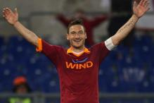 Veteran Francesco Totti as strong as ever for AS Roma