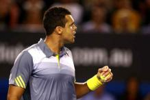 Jo-Wilfried Tsonga edges past Fish at Indian Wells