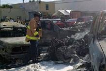 Small plane crashes in US parking lot, 3 dead