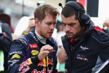 Sebastian Vettel apologises to Red Bull staff