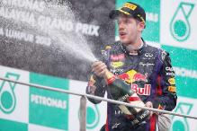 Sebastian Vettel wins the Malaysian Grand Prix 2013
