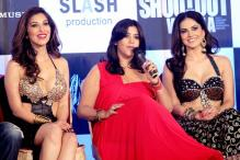 Sunny Leone, Sophie Choudry perform at the 'dhamaka' music launch of 'Shootout At Wadala'