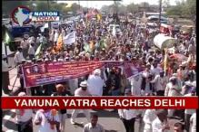 Yamuna Bachao Yatra marches into Delhi; BJP, Cong trade charges