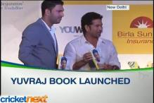 Yuvraj Singh's new book launched: The test of my life