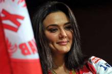 Preity Zinta walks the ramp for Surily Goel at WIFW