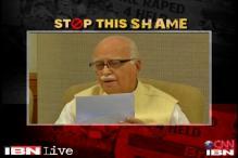 Shocked to hear about Delhi minor rape: Advani