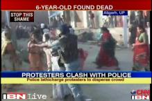 Watch: Policemen brutally lathicharge women protesters in Aligarh